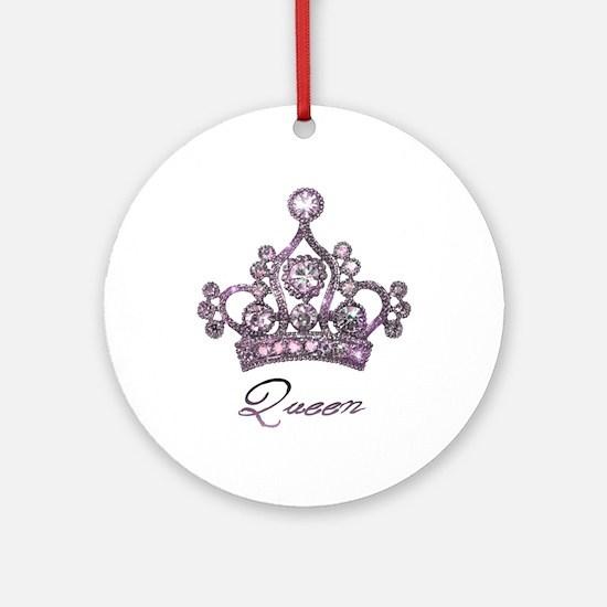 """Queen"" Ornament (Round)"