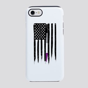 Asexual Thin Line American F iPhone 8/7 Tough Case
