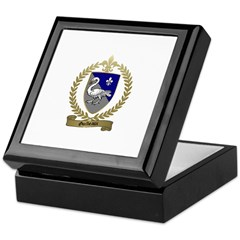 GUILBEAUX Family Crest Keepsake Box