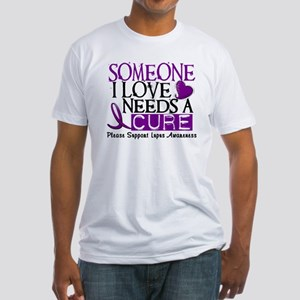 Needs A Cure LUPUS Fitted T-Shirt