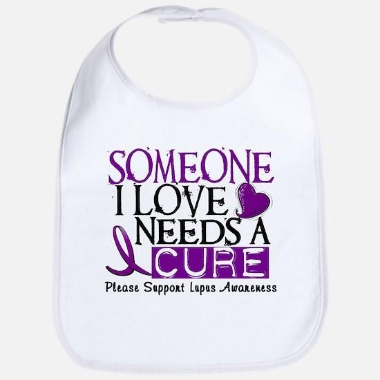 Needs A Cure LUPUS Bib