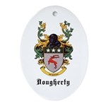Dougherty Coat of Arms Oval Ornament