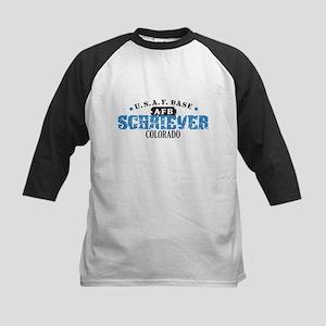 Schriever Air Force Base Kids Baseball Jersey