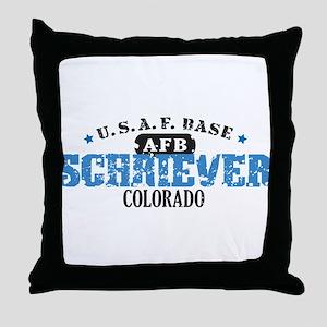 Schriever Air Force Base Throw Pillow