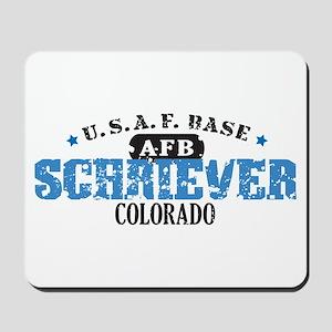 Schriever Air Force Base Mousepad