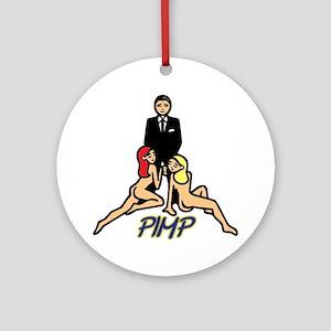 PIMP Ornament (Round)