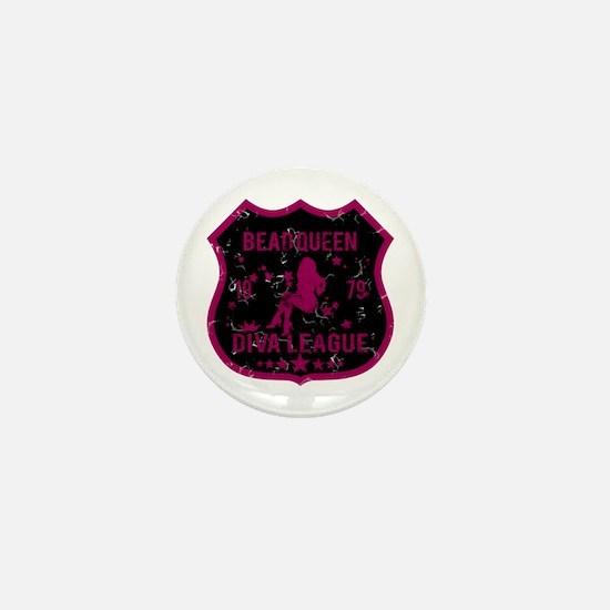 Bead Queen Diva League Mini Button