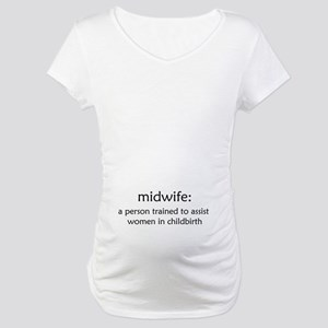 midwife definition Maternity T-Shirt