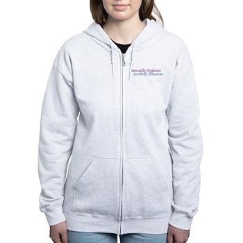 Sexually Dyslexic Women's Zip Hoodie