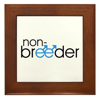Non-Breeder - Male Framed Tile