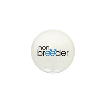 Non-Breeder - Male Mini Button (100 pack)