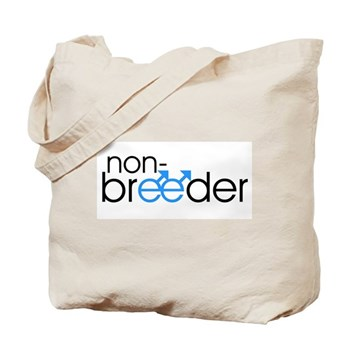 Non-Breeder - Male Tote Bag