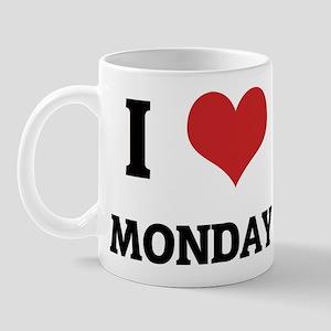I Love Monday Mug