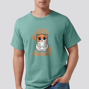 """Hold me closer tiny hamster"" is T-Shirt"