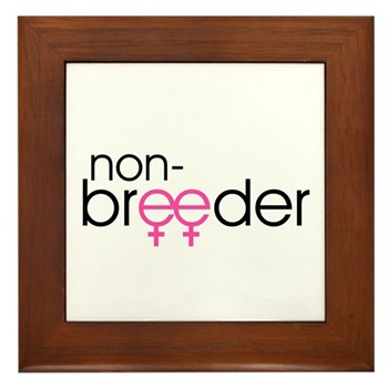 Non-Breeder - Female Framed Tile