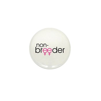 Non-Breeder - Female Mini Button (10 pack)