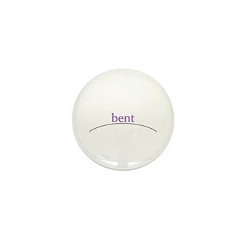 bent Mini Button (100 pack)