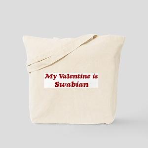 Swabian Valentine Tote Bag