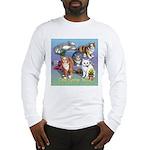 Cats Gone Wild Long Sleeve T-Shirt