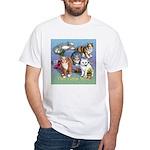 Cats Gone Wild White T-Shirt