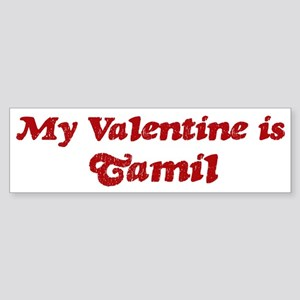 Tamil Valentine Bumper Sticker