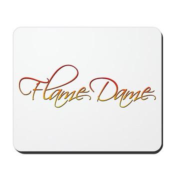 Flame Dame Mousepad