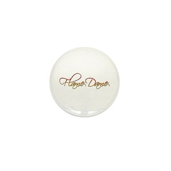 Flame Dame Mini Button (100 pack)
