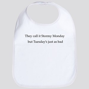 Stormy Monday Bib