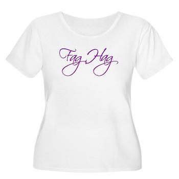 Fag Hag Women's Plus Size Scoop Neck T-Shirt