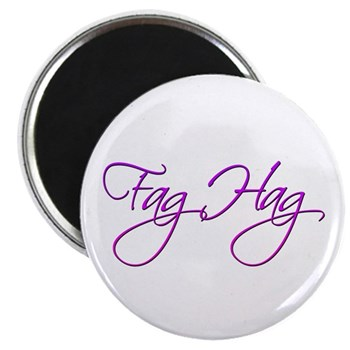 Fag Hag Magnet