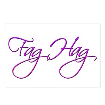 Fag Hag Postcards (Package of 8)
