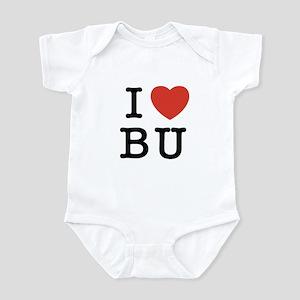 I Heart BU Infant Bodysuit