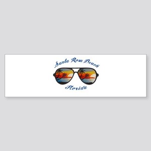 Florida - Santa Rosa Beach Bumper Sticker
