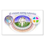 mSong Sticker (Rectangle 50 pk)