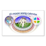 mSong Sticker (Rectangle 10 pk)