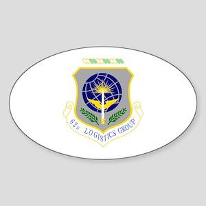 62nd Oval Sticker