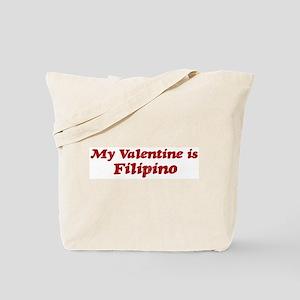 Filipino Valentine Tote Bag