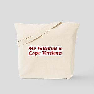 Cape Verdean Valentine Tote Bag