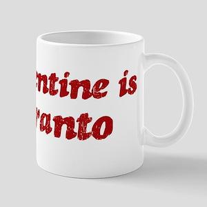 Esperanto Valentine Mug