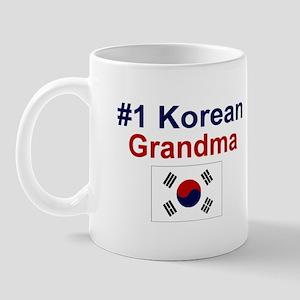 #1 Korean Grandma Mug