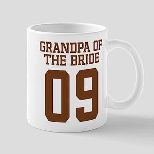 Grandpa of Bride 09 Mug