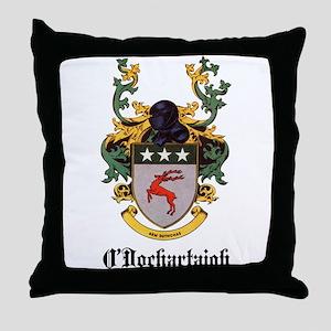 O'Dochartaigh Coat of Arms Throw Pillow