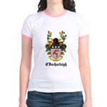O'Dochartaigh Coat of Arms Jr. Ringer T-Shirt