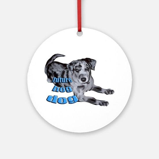 catahoula puppy Ornament (Round)