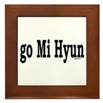 go Mi Hyun Framed Tile