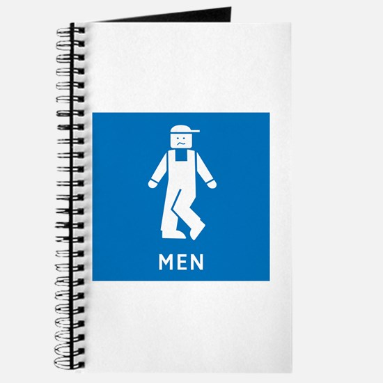 Public Toilet Men, California, USA Journal