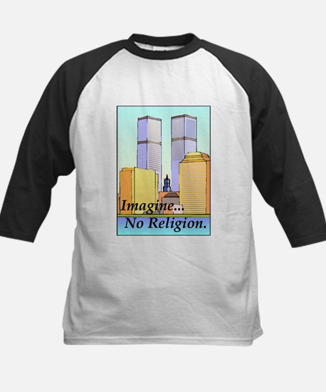 no religion Kids Baseball Jersey