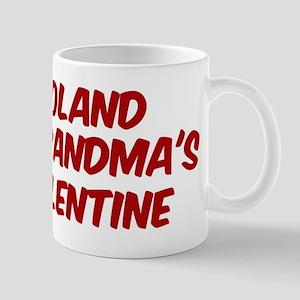 Rolands is grandmas valentine Mug