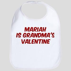 Mariahs is grandmas valentine Bib