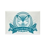 Antisocial Butterfly (blue) Magnets